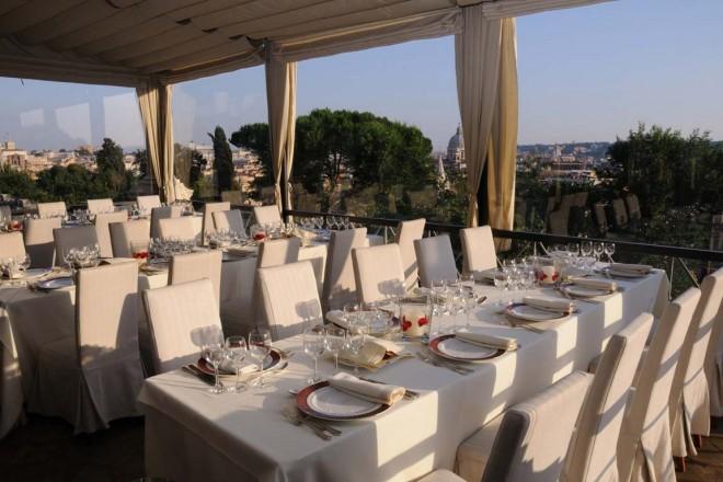 Villa exclusive - Vue Villa Borghese