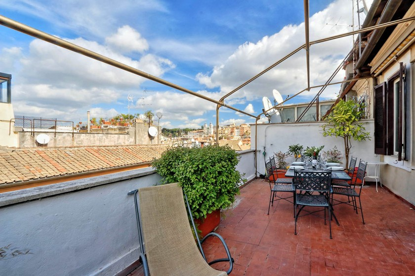 Appartement Spagna - Terrasse