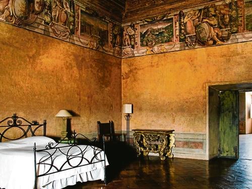 Villa Medici - Chambre historique