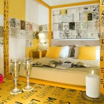 Hôtel Art - Chambre jaune