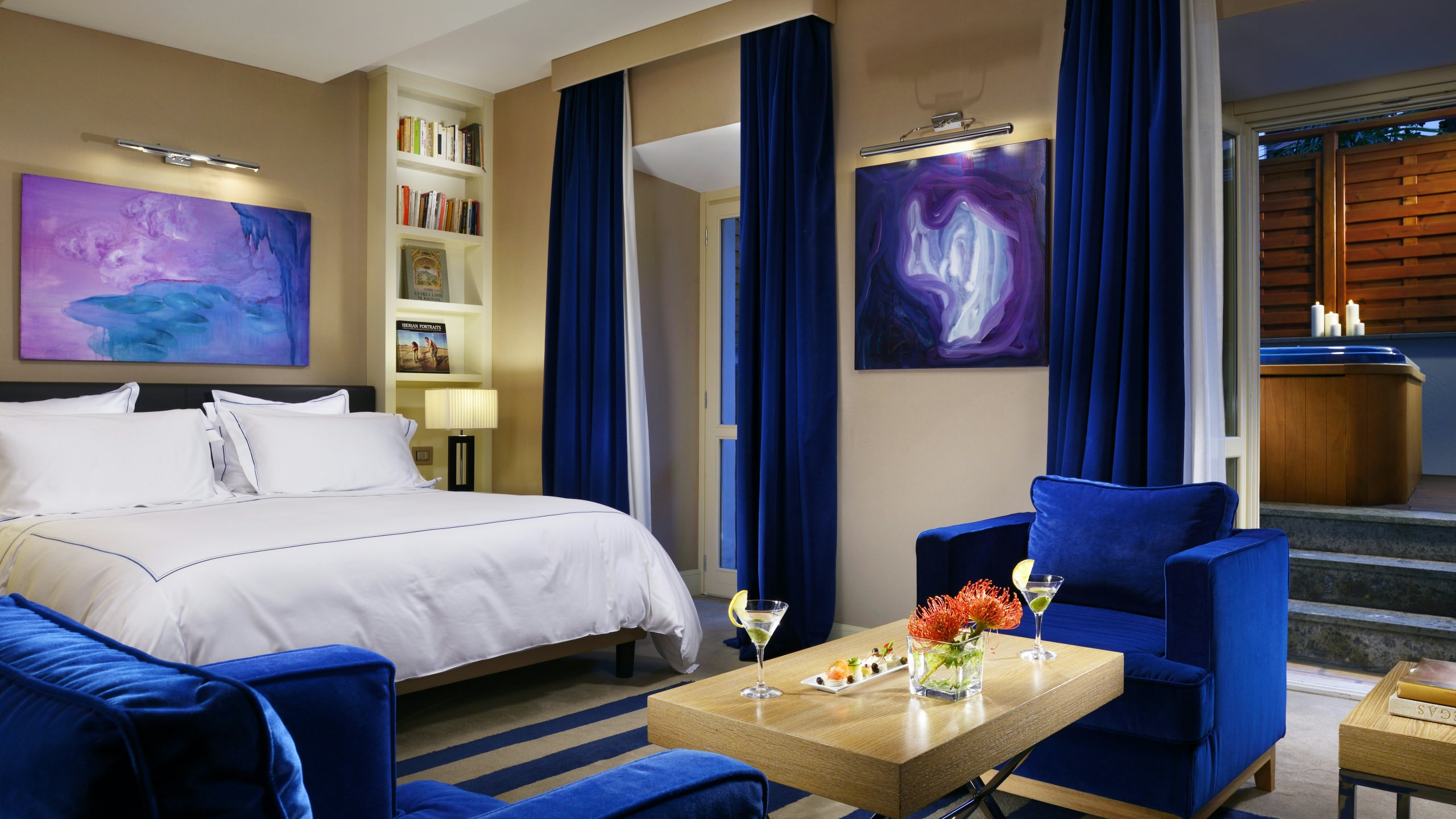 Hôtel luxe Popolo - Jacuzzi suite