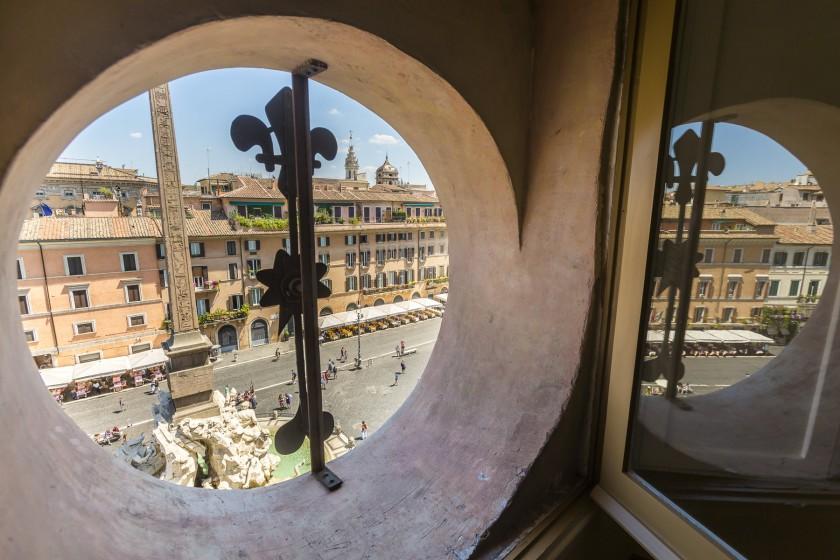 Palais Borromini - Vue place Navone