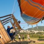 Tour en montgolfière à Rome