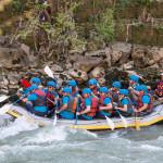 rafting tiberina