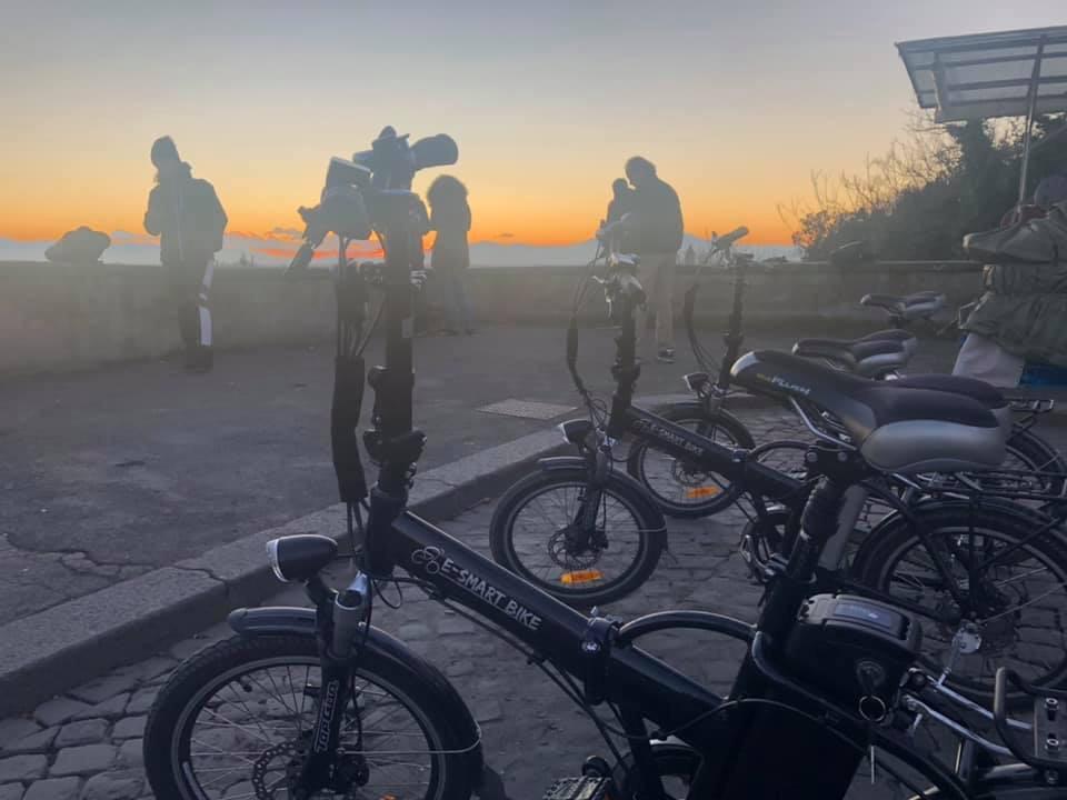 E-Smart Bike lever du soleil