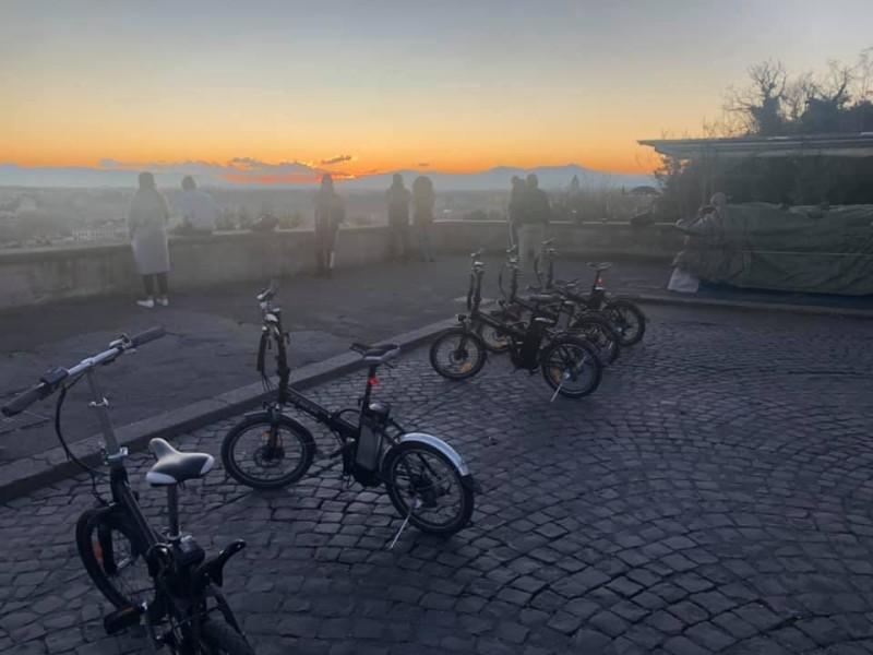 E-bike lever du soleil