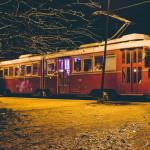 Dîner Tramway nuit