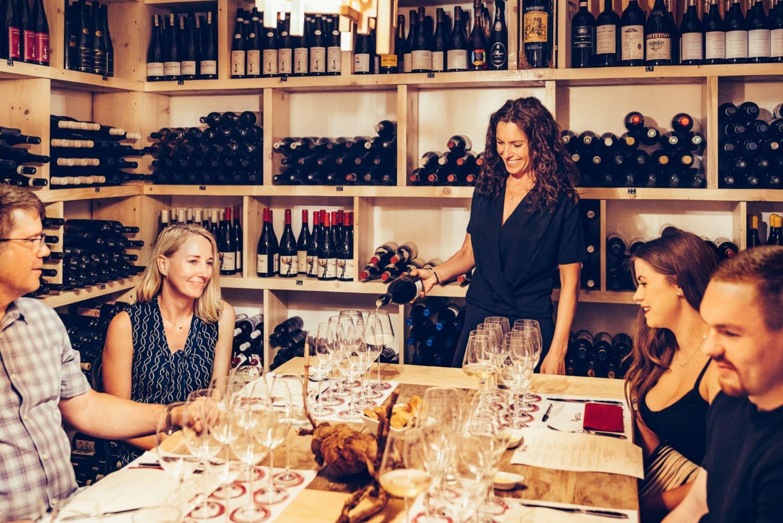 Wine tasting rome