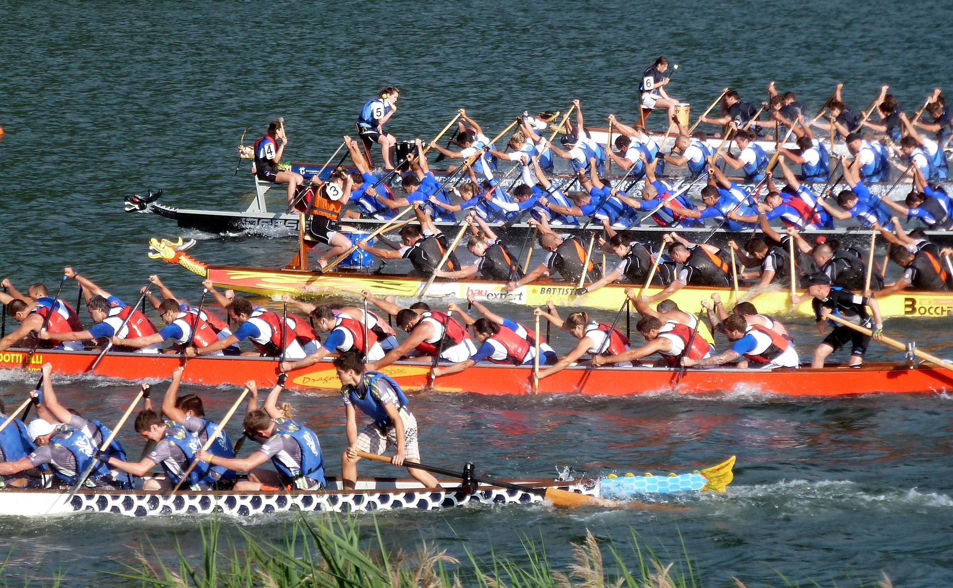 dragon boat tournoi Rome_beyondRoma