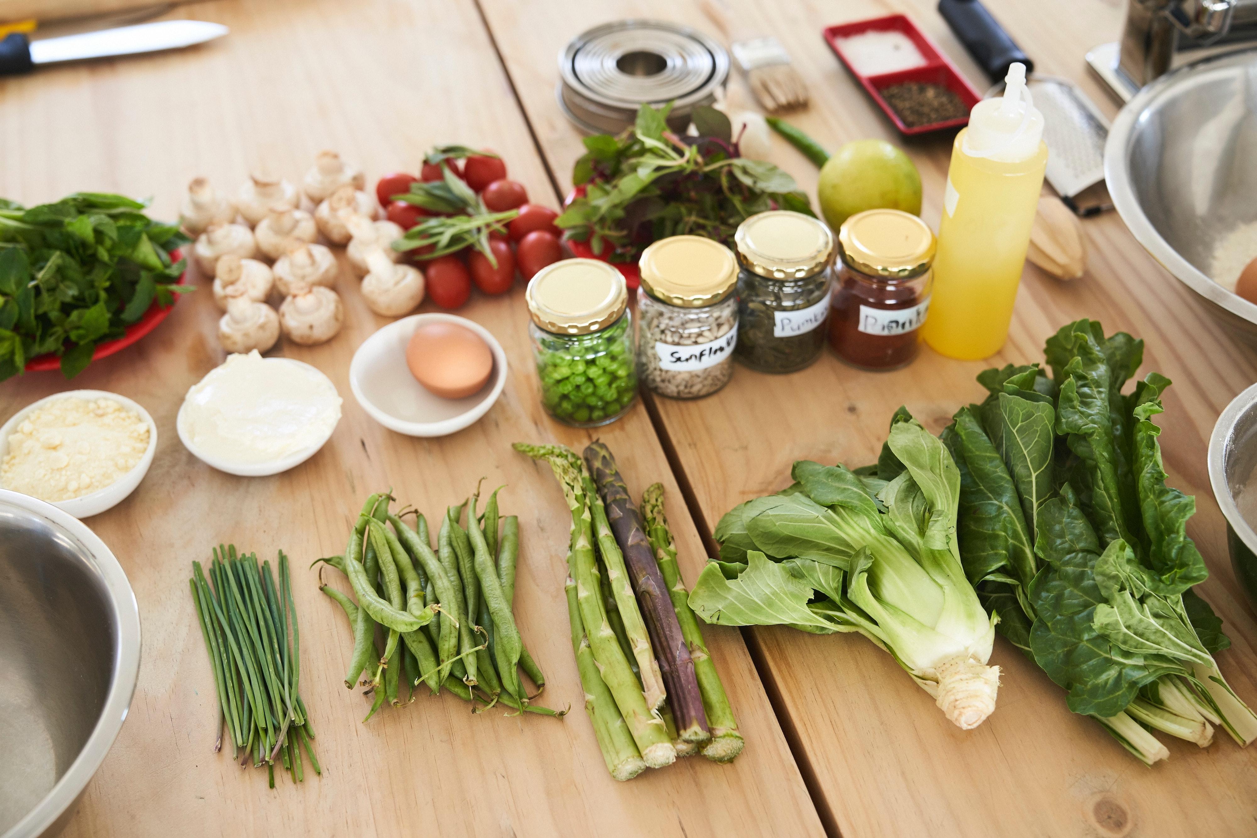 Cours cuisine online végétarien
