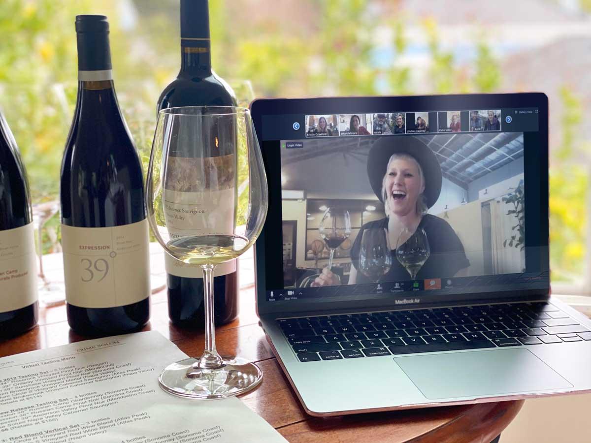 dégustation vin en ligne cours _BeyondTravel Event