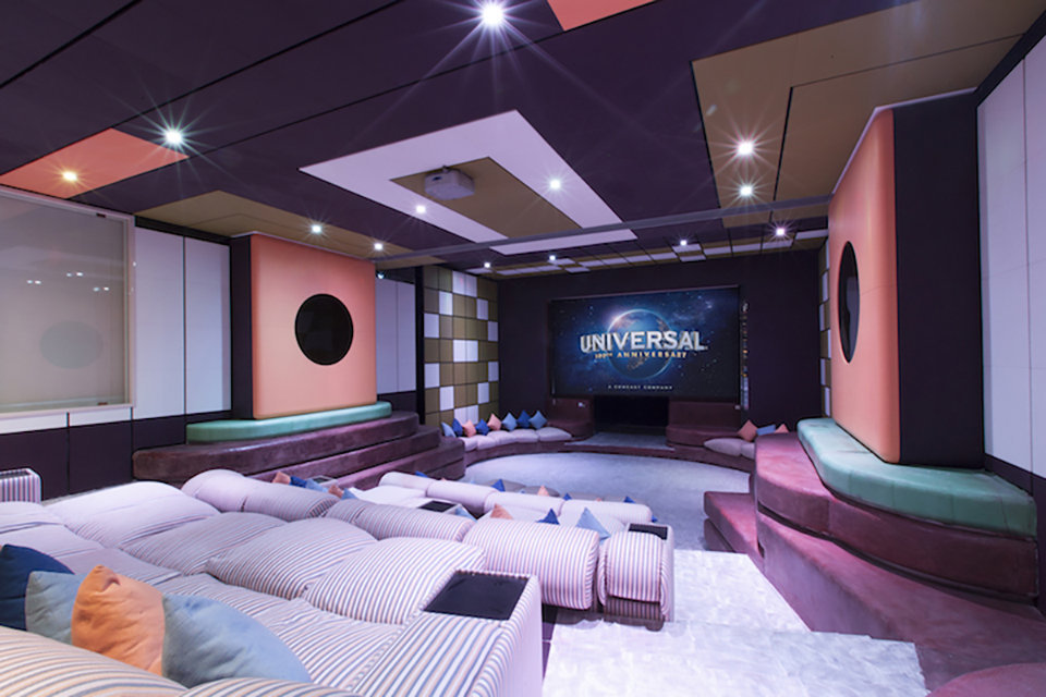 Location villa home cinema entreprise groupe _BeyondRoma
