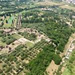 Tivoli hélicoptère visite Villa adriana _Beyond Roma