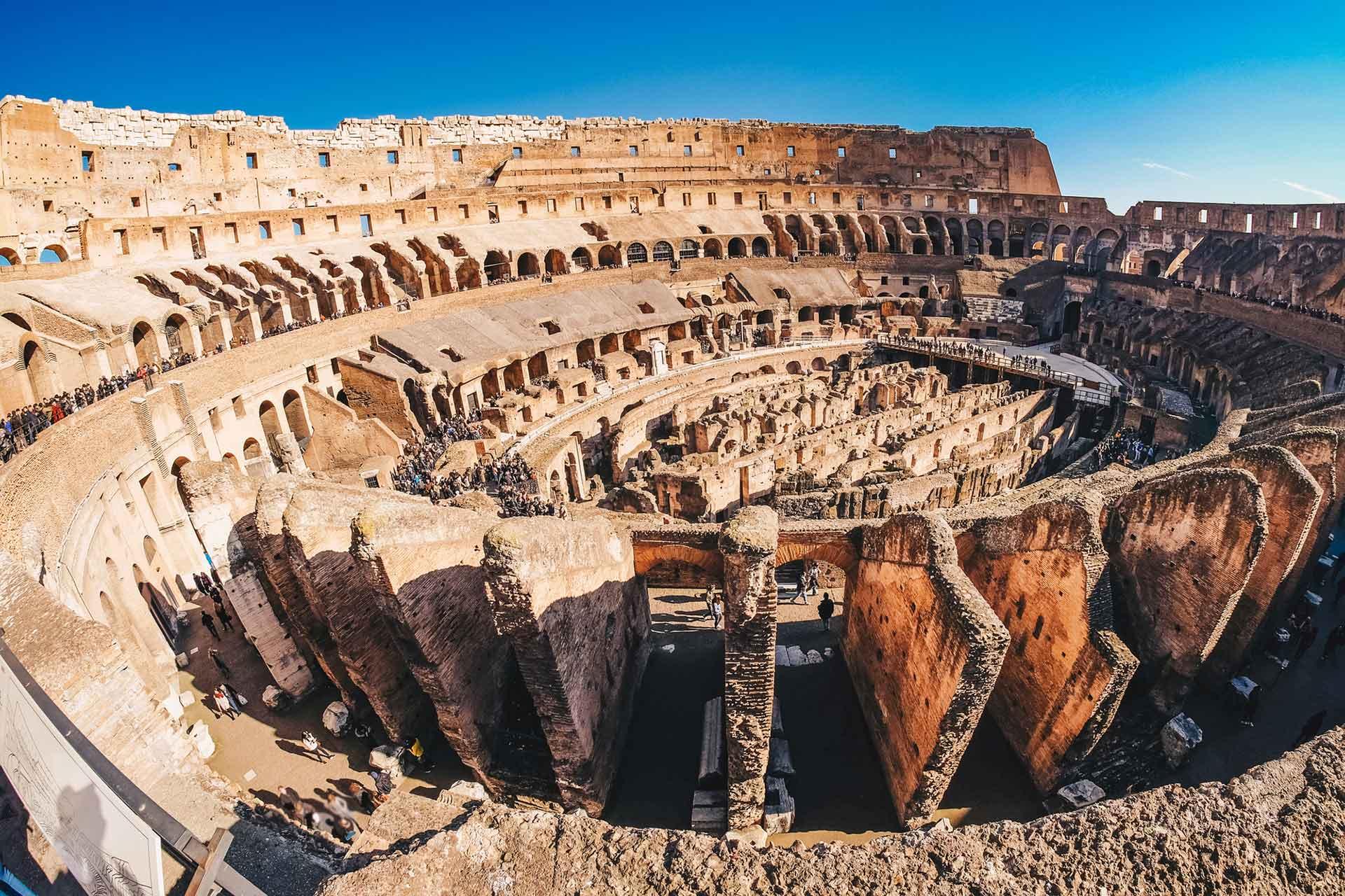 Visite Colisée groupe billet guide _Beyond Roma
