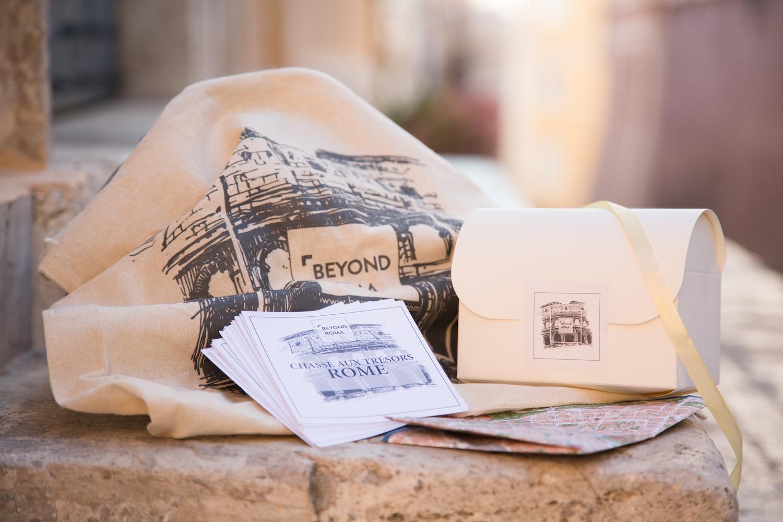 Kit Chasse aux trésors Couple ROME Famille _BeyondRoma