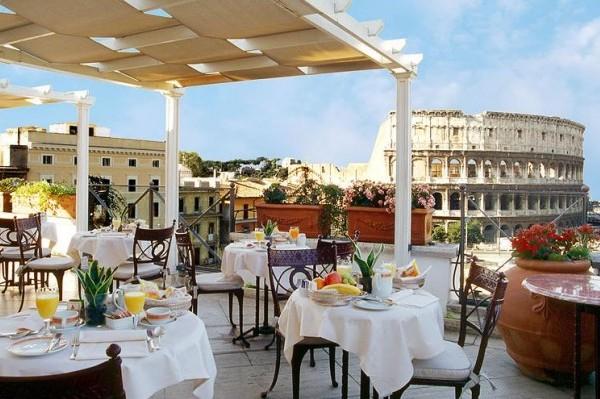 restaurant panoramique Rome